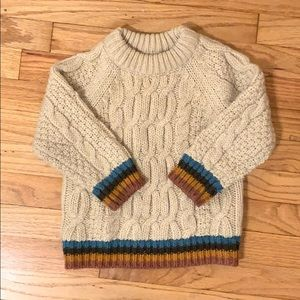 Zara Baby Cable Knit Sweater